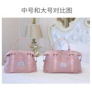Women ' s Duffel Bags 33 * 50 * 18CM , Pink Color Ladies Sports Bag Manufactures