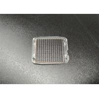 Buy cheap OEM / ODM Fly Eye Lens Array Colorless PMMA AR coating 25.6x21.9x2 ±0.05MM from wholesalers