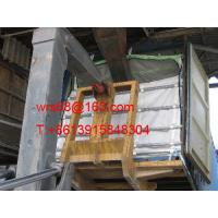 China UV Treated Fabric Bulk Container Liner bag with zipper open loading on top , dry bulk liner on sale