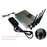 Power Adjustable Remote Control Mobile Phone Jammer + 60 Meters Manufactures