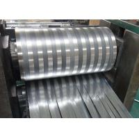 8000 Series Mill Finished Aluminum Fin Strips Heat Exchange Materials For Air Dryer Manufactures
