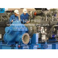 Diesel Engine Driven Emergency Fire Pump Centrifugal For Terminals / Oil Depots Manufactures