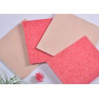 Industrial Polyester Acoustic Panels Soundproof Boards With Pink Manufactures