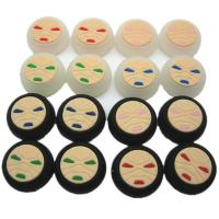China Face Pattern Silicon Thumbstick Thumb Grip Stick Joystick Cap Cover Case for PS4 Xbox one PS3 Xbox 360 Controller on sale