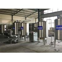 China Liquid Aseptic Milk Processing Machine , Pasteurized Yogurt Filling Machine on sale