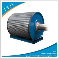 Rubber coated ceramic pulley lagging for conveyor Manufactures