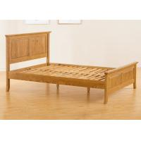 Teenage Student Wooden Single Bed Frame , Comfortable Real Wood Bed Frame Manufactures