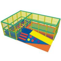 China Wooden Structure Preschool Soft Play Equipment High Density Sponge on sale