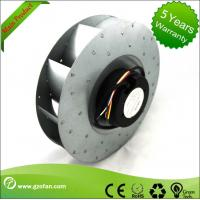 Ec Centrifugal Fans Sheet Aluminium With Fresh Air System 310mm Manufactures