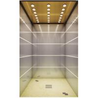 China Hairline Stainless Steel Fuji Passenger Elevator Side / Center Opening Type Optional on sale