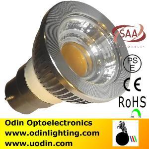 B22 LED PAR16 COB Dimmable cob led spotlight bulbs 5w Manufactures