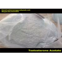 Testosterone Acetate Powder / Test Acetate Cas 1045-69-8 For Pharmaceutical Material Manufactures