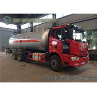 FAW 10 Ton LPG Tank Truck , 24M3 3 Axles 6x4 Truck With Dispenser Manufactures