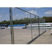 "8'x12' tubing 1⅜""(35mm) x 16ga thickness chain link us standard temporary fencing 13ga/2.3m diameter Manufactures"