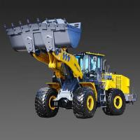 China 11 Ton Wheel Loader Machine / Compact Articulated Wheel Loader Construction Equipment on sale