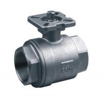 2-pc stainless steel ball valves full port 1000WOG ISO-5211 DIRECT MOUNTING PAD SS316 Manufactures