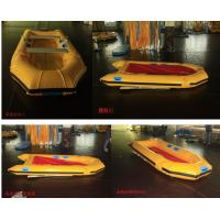 310 * 120cm Best inflatable raft for fishing , double - faced boat for marine Manufactures
