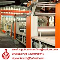 Fully Automatic Fire Resistant Mgo Slab / Magnesium Oxide Board Production Line Manufactures
