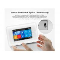 Full Touch Screen Wireless Security Alarm System GSM 3G WIFI 2 Years Warranty Manufactures