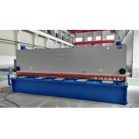 Electric Hydraulic Guillotine Shear Cutting Raw Material With Numeric - Control System Manufactures