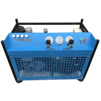 High Pressure Breathing Air Compressor , Heavy Duty Air Compressor For Salvage Manufactures