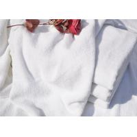 Hotel Bath Towel And  Spiral Plain White 21S With Cotton Terry Manufactures
