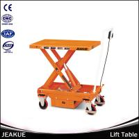 1000kg Overloading Protection Pedal Lifting Popular Double Scissors Portable Lift Table Manufactures