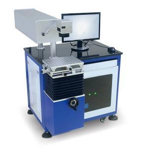 Plastic Animal Ear Tag UV Laser Marking Machine Desktop Type Structure Manufactures