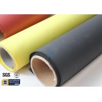 Fiberglass Fabric Acrylic Coated Fire Welding Blanket Cloth Roll 0.45MM 260℃ Manufactures