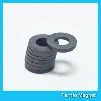 China Industrial Large Ring Shape Ferrite Speaker Magnet 53mm X 24mm X 11mm on sale