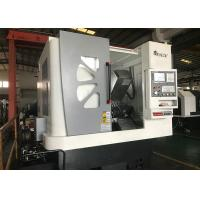 Horizontal Three Axis Slant Bed CNC Lathe Machine 360mm Max Swing Over Table Manufactures