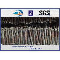 Q235 Galvanized Washer Head Timber Drive Screw For Rail Fastening System Manufactures