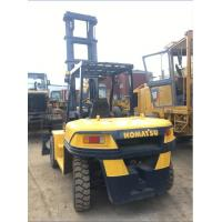 Komatsu FD100 Used 10 Ton Forklift , Reconditioned Forklift Trucks 2013 Year Manufactures