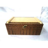 Handmade Wooden Champagne Box For Gift Packaging , OEM ODM Service Manufactures
