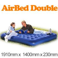 Comfortable 140cm Inflatable Air Beds 0.55mm PVC With EN71 SGS Manufactures