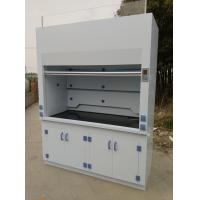 1800 width Laboratory Furniture Safe Ductless Fume Hood Exhuasted System CE / ISO Manufactures