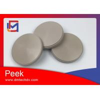 China Chinese best quality dental peek block CAD Cam peek disc for dental partial on sale