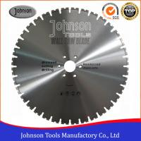 China 600mm Laser Welded Wall Saw Diamond Blade for Reinforced Concrete Cutting on sale