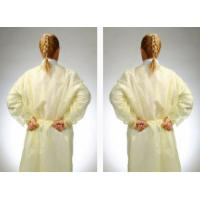 China Disposable Operating Room Scrubs Uniforms , Non Woven Protective Clothing Overalls on sale