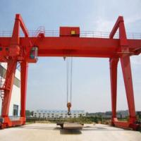 Outdoor Movable Double Girder Gantry Cranes Industrial Heavy Load Large Span for sale