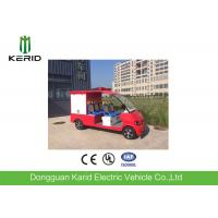 Fire Protection Electric Fire Fighting Vehicle 5 Person With ABS Cushion Manufactures