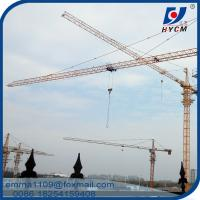 External Climbing Construction Cranes Tower QTZ 50 50m Boom Specification Manufactures
