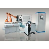 Automatic Robotic Grinding Cell , Robotic Deburring Machine For Hardware Fitting Manufactures