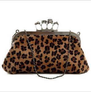 Designer Handbags Leopard Clutch Bag (S451) Manufactures