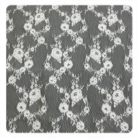 150 x 300 cm Chantilly Trim Lace , Upholstery Fabric For Evening Dress Or Lady Garment Manufactures