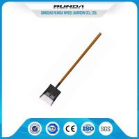Power Coated Steel Spade Shovel , Square Spade Shovel Multi Purpose 1.5-1.6kg Manufactures