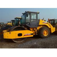 Road Making Machine  18 Ton Vibrating Road Roller Machine With Single Drum Manufactures