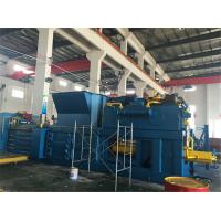 China Hydraulic Baling Press Machine For Waste Paper Plastic Belting Of Loose Materials for sale