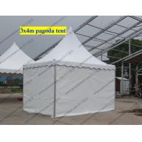 Customize White High Peak Tents PVC Cover Temporary For Exhibition Shows Manufactures
