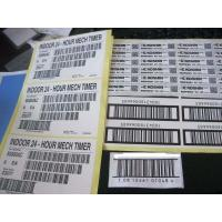 Customized offset paper label tags with Self-adhesive label for bar code Manufactures